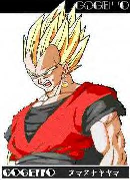 Vegeta and Gohan Fused into Gogetto