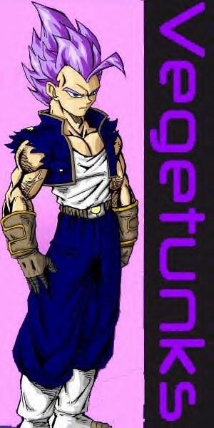Vegata and Trunks Fused