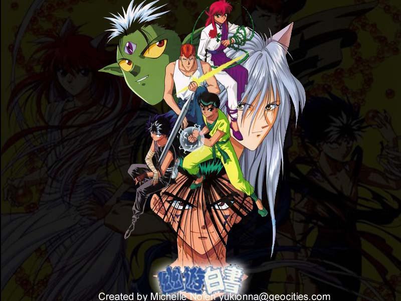 Animemegaverse Com Anime Website Anime Wallpapers Yu Yu